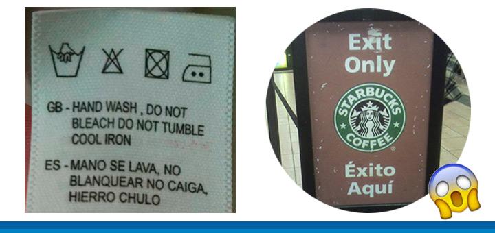 Los elevados costes de una traducción incorrecta